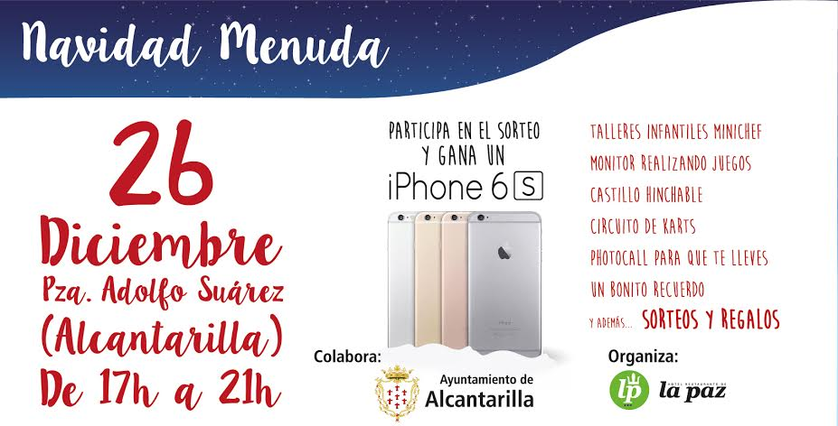 Sorteo iphone cartel
